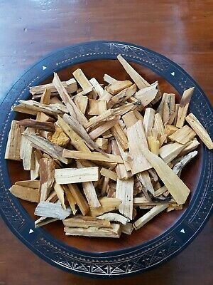 500g PALO SANTO HOLY WOOD WILD HARVESTED SPLINTERS SUPER STRONG🌌🌎🇵🇪🇦🇺