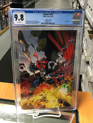 CGC 9.8 Spawn 300 Virgin Cover D Greg Capullo Image Comics Todd McFarlane