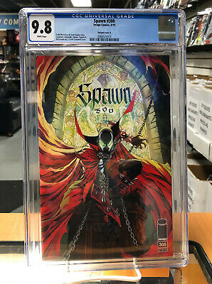 CGC 9.8 Spawn 300 Variant Cover G J. Scott Campbell Image Comics