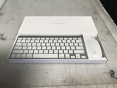 Apple Wireless Keyboard (Aluminum) And Magic Mouse Bundle A1314 A1296
