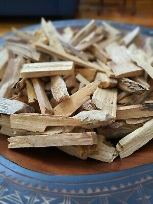 100g PALO SANTO HOLY WOOD WILD HARVESTED SPLINTERS SUPER STRONG🌌🌎🇵🇪🇦🇺
