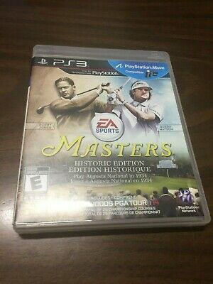 [PS3] [Used] Tiger Woods PGA Tour 14 Masters Historic Edition