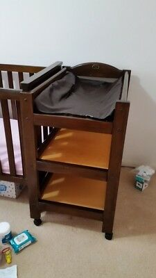 Boori Country 3 Tier Change Table Baby Toddler RRP$600 RYDALMERE