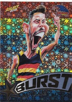 2019 Footy Stars Team Colours Starburst Choose Your Card