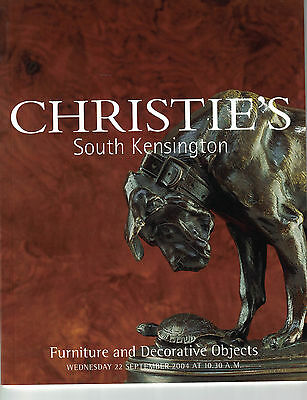 Christie's S Kensington- Furniture and Decorative Objects Sept 22 2004