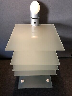 5-Tier Stereo Hi-Fi Glass Floating Shelves Stand by Audio Innovations