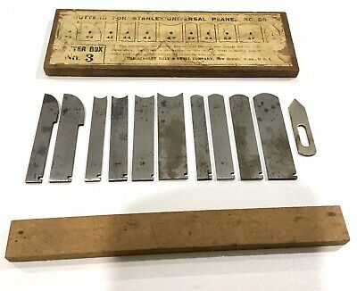 Cutter Box No 3 For Stanley Rule & Level Co Universal No 55 Plane Made In USA