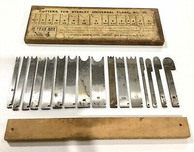Cutter Box No 4 For Stanley Rule & Level Co Universal No 55 Plane Made In USA