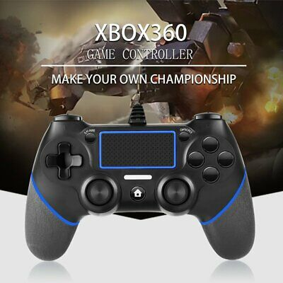 USB Wired Game Controller For Sony PlayStation 4 Joystick Gamepad Controller FD