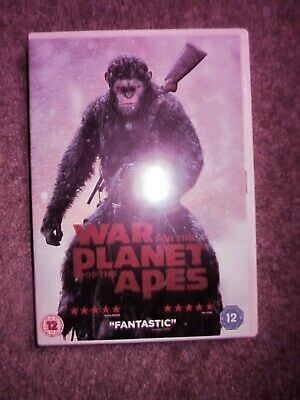 War for the Planet of the Apes DVD (2017) Andy Serkis, NO SLIPCOVER IVGC