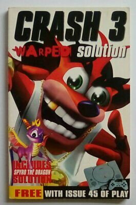 Crash Bandicoot 3 Warped Strategy Guide Hints Solution PlayStation One 1 PS1