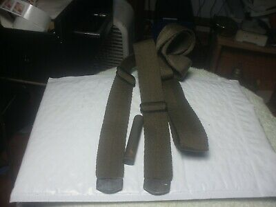 M 1 CARBINE  RIFLE SLING NYLON  w/ OILER  CIRCLE WITH IS