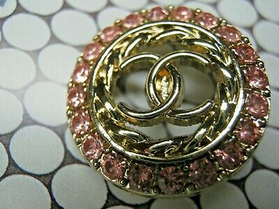 Chanel 1 cc button   GOLD 23mm lot of 1 good condition