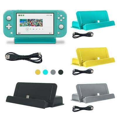 Portable Charger Charging Dock Stand Holder For Nintendo Switch Lite NS Console