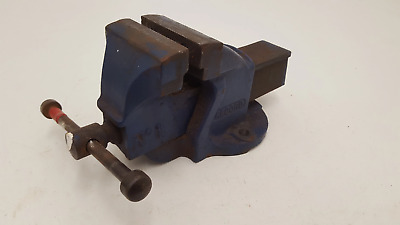 "Record No 1 Bench Engineers Vice w 3"" Jaws 21204"