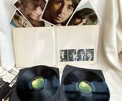 The Beatles White Album  original numbered UK mono vinyl LP top loader record po