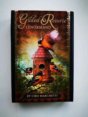 Gilded Reverie Lenormand by Ciro Marchetti Oracle Tarot i OOP Collectable
