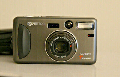 YASHICA Tzoom film camera - Carl Zeiss 28-70 mm. lens