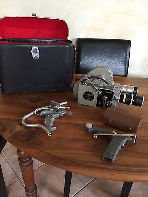 "CAMERA "" PATHE WEBO M REFLEX 16 "" -16 mm - Plus 3 Zoom"
