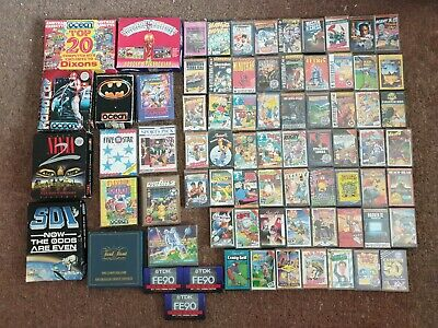 150 Classic Amstrad CPC 464 Games & 3 Blank TDK Cassettes - Tested & Working
