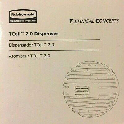 6# Rubbermaid Commercial Products TCell 2.0 Dispenser Technical Concepts 1957532
