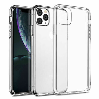 Case for iPhone 11 Pro XR XS MAX ShockProof Soft Phone Cover TPU Silicone Clear