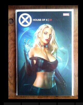 House Of X #1 Shannon Maer Trade Dress Variant - Nm In Hand - Emma Frost