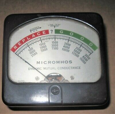 Hickok 532 Tube tester Panel Meter Tested  .