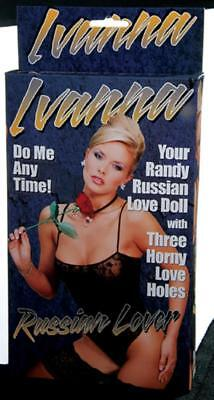 RUSSIAN Inflatable Female Doll -Novelty Hen Party Fun / Funny Stag Night Gifts