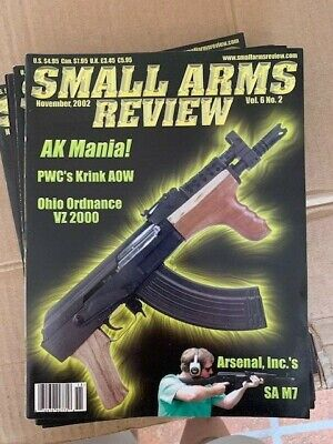 Small Arms Review Magazine volume 6 number 8 May 2003