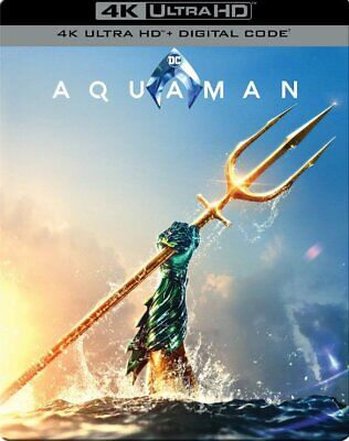 Aquaman Steelbook (4K Ultra HD + Digital)