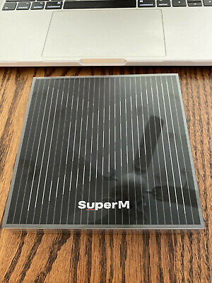 SuperM The 1st Mini Album 'SuperM' UNITED Ver. Audio CD 2019 NEW