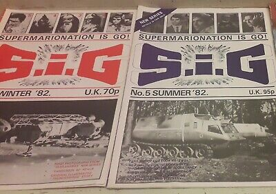 Supermarionation Winter & Summer 1982 Issues