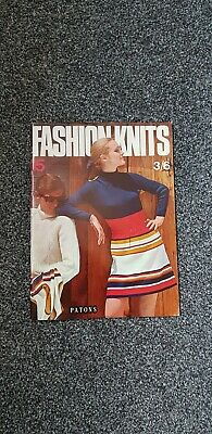 Vintage Patons 1960s Knitting Patterns book