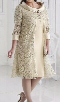 Elegant Mother of the Bride/Groom Outfit, Dressed Up by Veromia, UK 24, BNWT