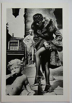 """HELMUT NEWTON: """"Fashion photograph"""" orig. Photo Litho from Special Collection"""