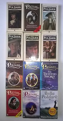 Poldark Books. Set Of 12 Paperback By Winston Graham