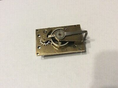 Platform Lever Escapement, 8 Leaf Pinion.