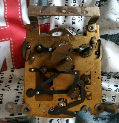 Clock Parts Smiths Enfield Replacement Movement Fully Working Spares Or Repairs