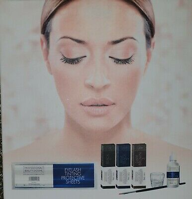 Professional Beauty Systems Eyelash and Eyebrow Tint FULL SET Brand New & Boxed