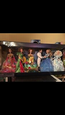 Cinderella 2015 Disney Store Rare Ball In Box Live Action Dolls New