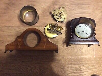 Clock Movements and Cases For Spares