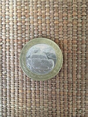 1998 Vintage Car Rally £2 Two Pound Coin Isle Of Man Tt