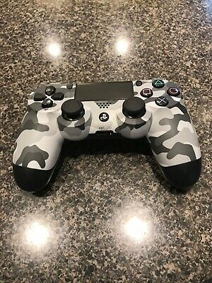 Sony Playstation 4 DualShock Controller Camo Green (Official PS4) ~LOOK!