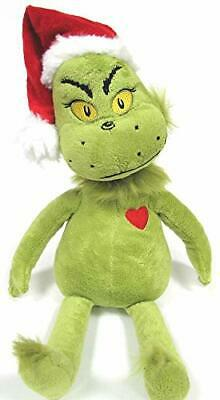 """Dr. Seuss The GRINCH Who Stole Christmas 14"""" GRINCH Plush Doll  ***USA SELLER***"""