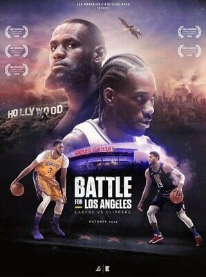 LA Lakers vs. LA Clippers tickets (4) 10/22/19 - opening night sect 209 Row 9