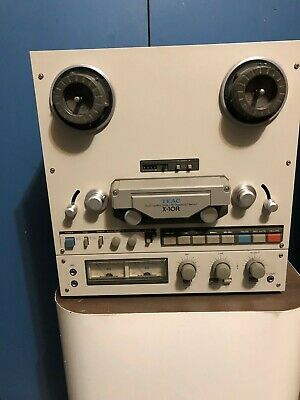 """Teac X-10R 10.5"""" 3  7 Ips Reel To Reel Tape  Recorder Serviced"""