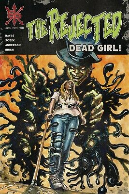 REJECTED DEAD GIRL 1 one shot NEW oct 2019 SOURCE POINT PRESS HORROR NM new