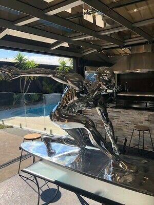life size silver surfer, Marvel rise of the silver surfer