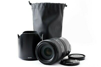 Sony SAL70300G 70-300mm f/4.5-5.6 SSM Lens W/Hood Excellent++ Tokyo Japan Tested